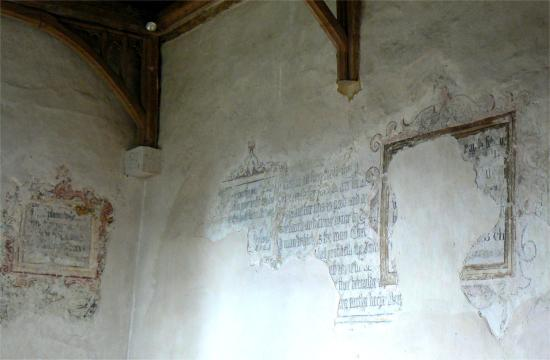 Walls of St Mary's