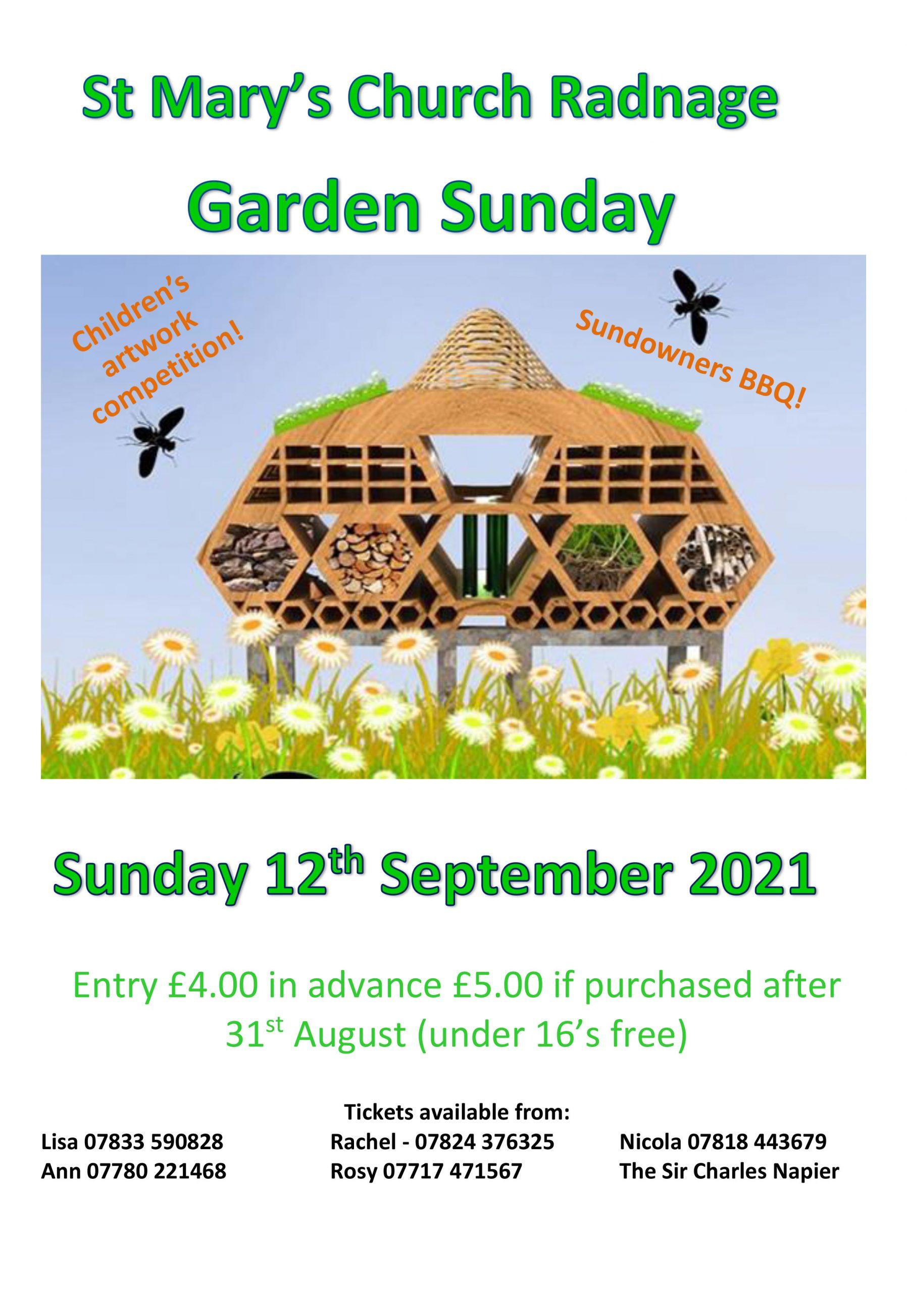 Garden Sunday 2021